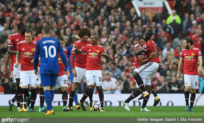 Lukaku scores and Manchester United ruin Rooney's Old Trafford return