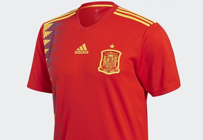 Spain's adidas World Cup shirt sparks controversy