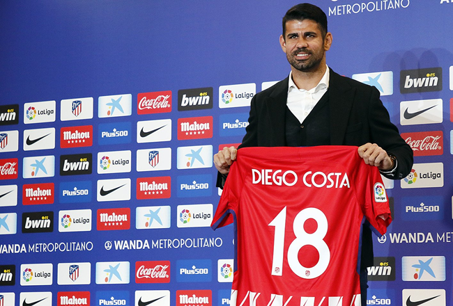 Costa can't wait to start with Atletico