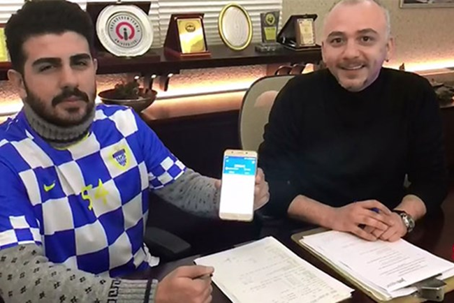 Turkish amateur football player paid in Bitcoins