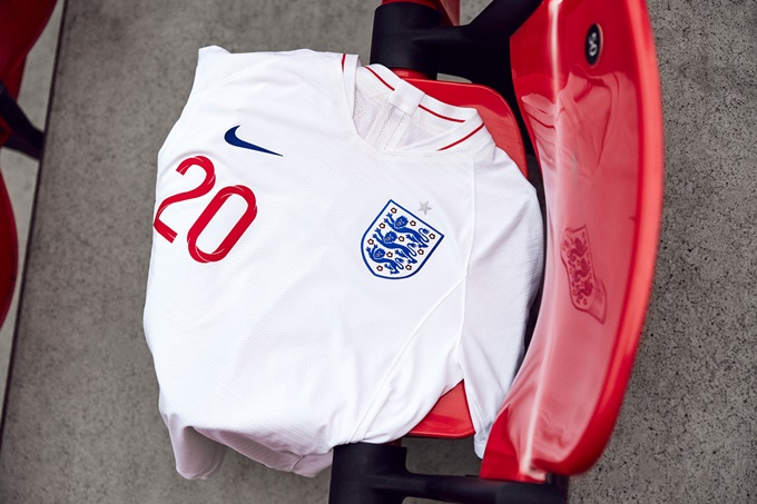 England launch new 2018 home and away kits ahead of World Cup