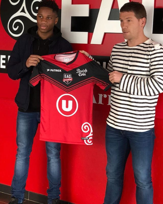 Didier Drogba's son Isaac signs for Guingamp