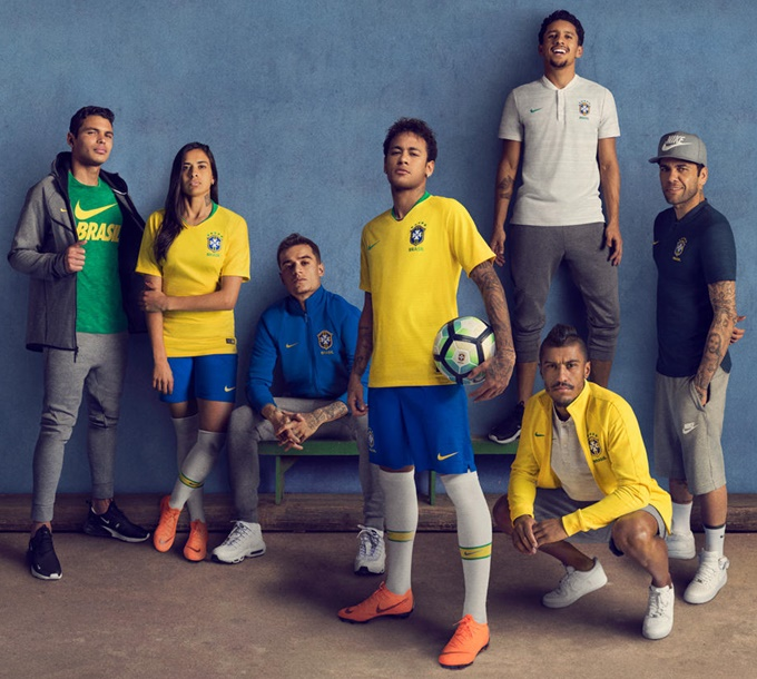 ec8de184cde  The Most Vivid Yellow For 20 Years  – Nike Release New Brazil Home And  Away Kits For 2018 World Cup (Photos)