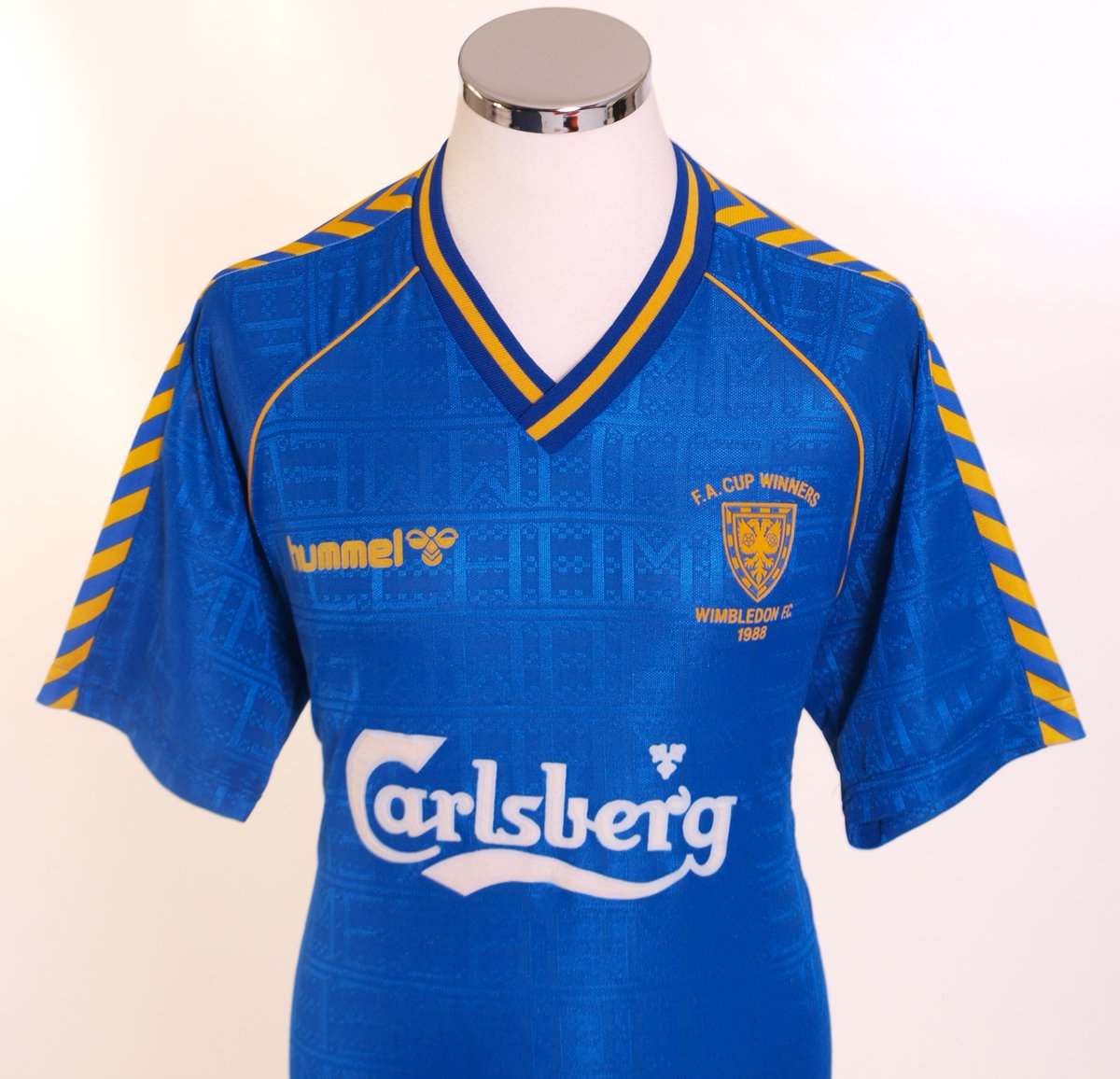 5022f2d59b2 Chevrons, Pinstripes And Vikings: Top 10 Classic Hummel Football Kits Of  Yesteryear