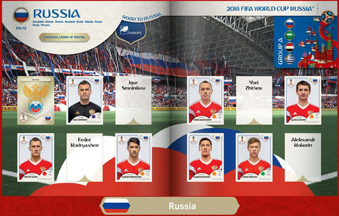 2018 Russia World Cup Book