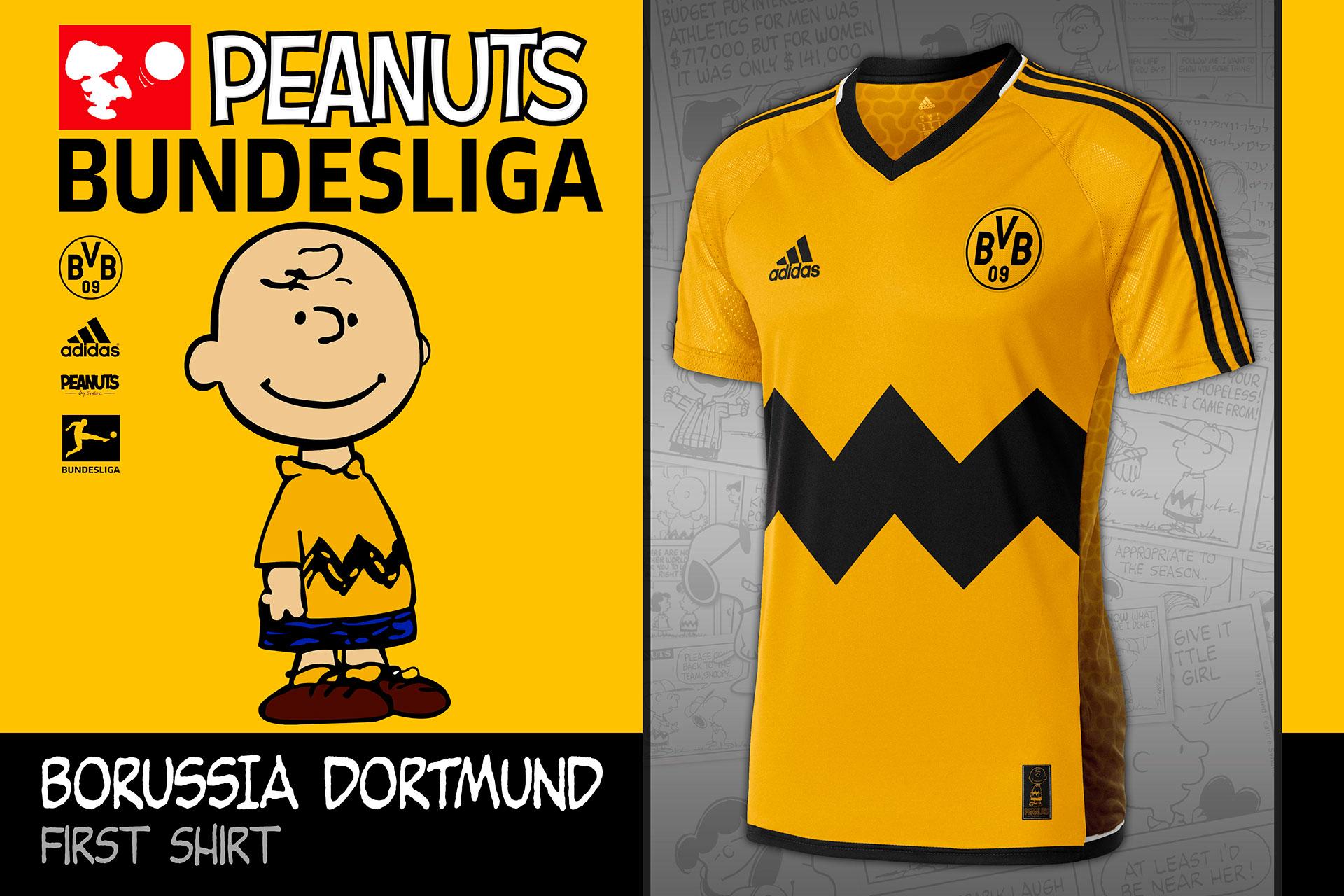 eb6de7ae98a Good Grief  Bundesliga Kits Designed For Charlie Brown