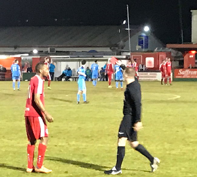 Dissent Into Madness: Hemel Hempstead Striker Sanchez Watt Sent Off (Then Immediately 'Un-Sent Off') After