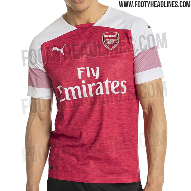 Arsenal s New 2018 19 Puma Home Shirt Has Been Leaked And It s Bloody  Hideous! (Photos) 6328b5884