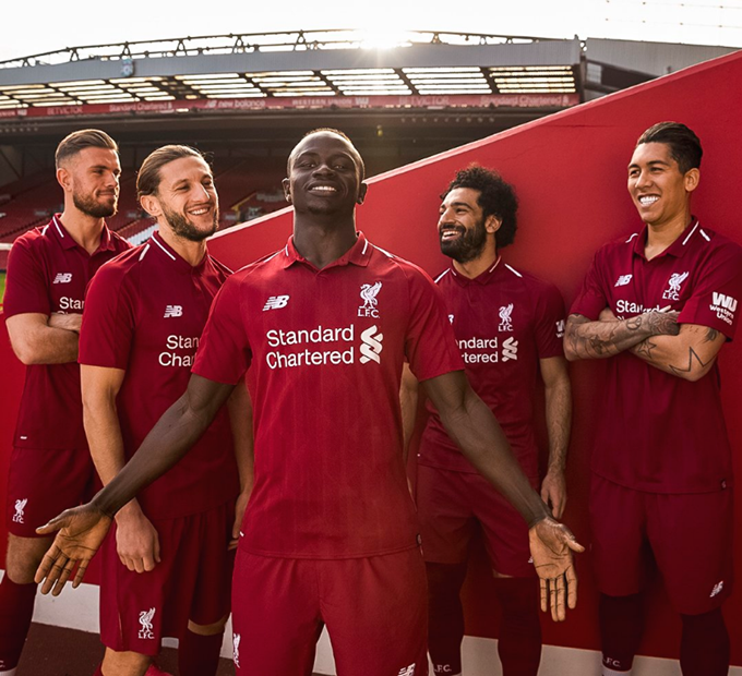 new styles 1fbc8 4f8db This Means More' – Liverpool Unveil New Balance Home Kit For ...