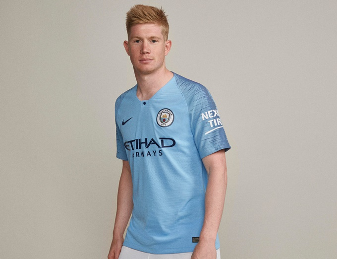 1b4367242 Man City Unveil New 2018 19 Home Kit