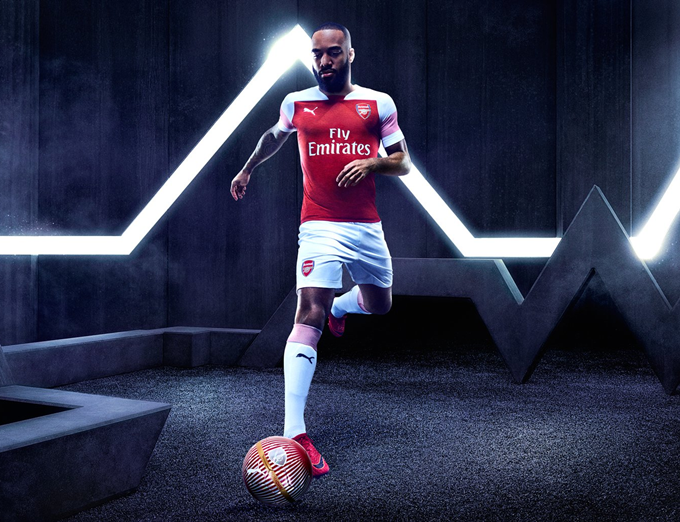 32a609ab8d9 Arsenal Release New 2018 19 Puma Home Kit – First Strip Of The Post-Wenger  Era And It s Not Great (Photos   Video)
