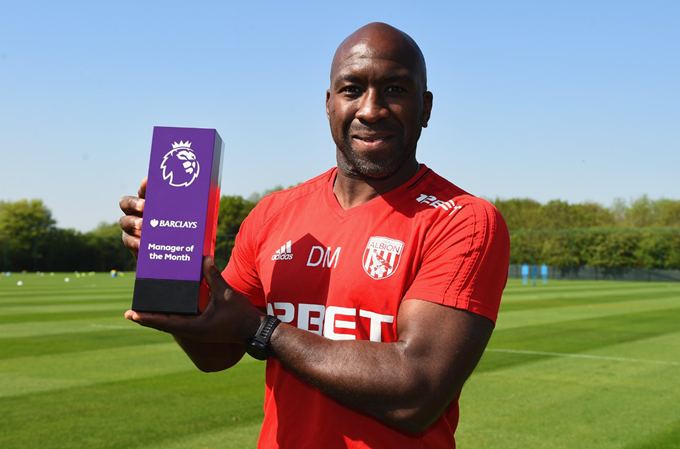 Former Reggae Boy Moore named Premier League Manager of the Month