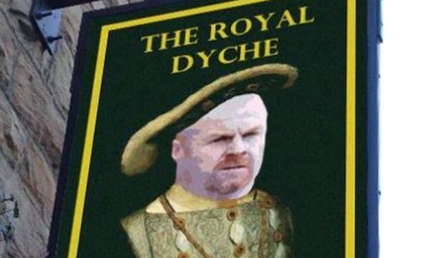 The Royal Dyche: Burnley boss has pub named after him