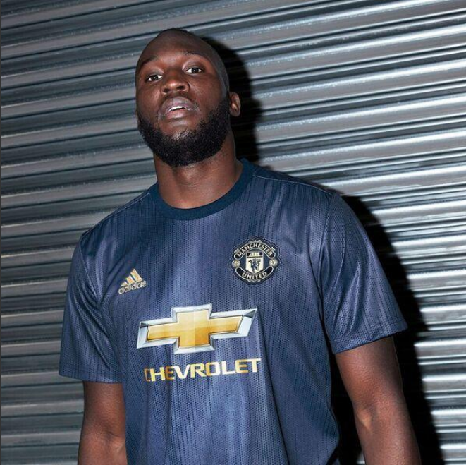 b308402af Plastic Fantastic  Man Utd Launch New Adidas 2018 19 Third Kit Which Is As  Green As It Is Blue (Photos   Video)