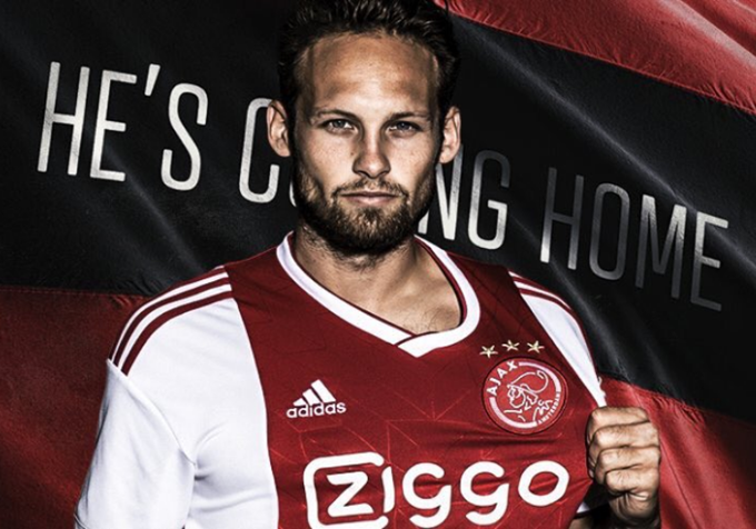 Daley Blind Closing In On €21m Manchester United Departure