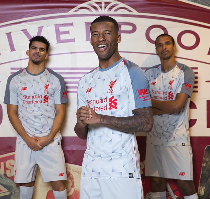 ec371d1d1 Liverpool Unveil New Geometric Third Kit With Kindly Assist From PES2019  (Photos   Video)