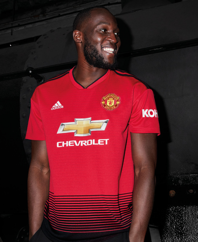 a79def56b Man Utd Launch New 2018 19 Adidas Home Kit Inspired By Choo-Choo Trains  (Photos)