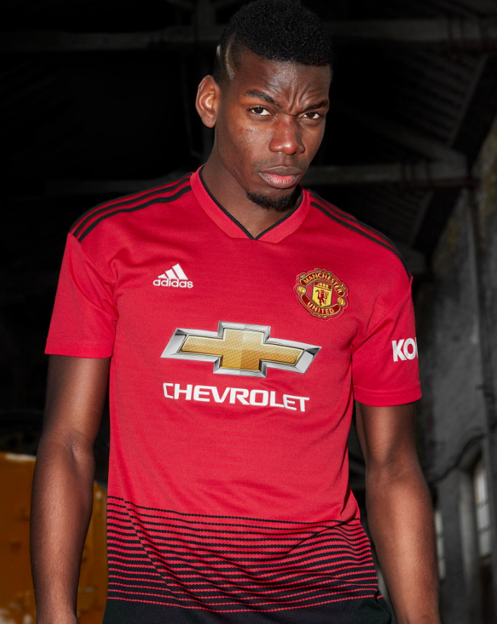 Man Utd Launch New 2018/19 Adidas Home Kit Inspired By ...