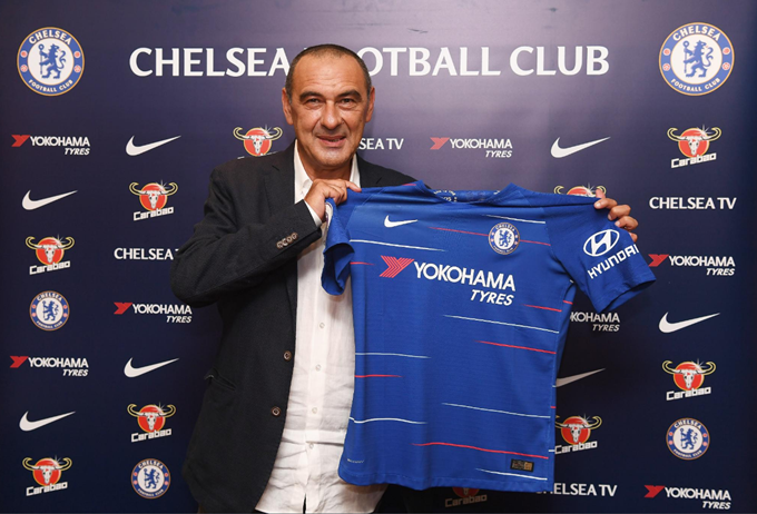 Former Napoli boss Maurizio Sarri replaces Antonio Conte as Chelsea head coach