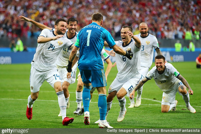 3ffa51c709 World Cup  Feeble Spain Out On Penalties After Succumbing To Rock Solid  Russia At Last-16 Stage (Photos   Video) July 1st