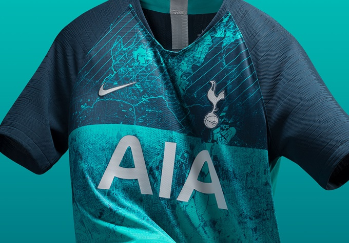 Tottenham S Smart New European Third Shirt Features Aerial Photograph Of Their Local N17 London Borough Photos Who Ate All The Pies