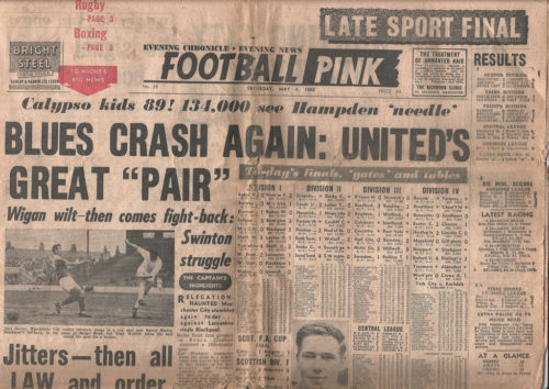 0d9c3319cff The Football Pink in all its rosy glory (Image: The Football Pink Archives)