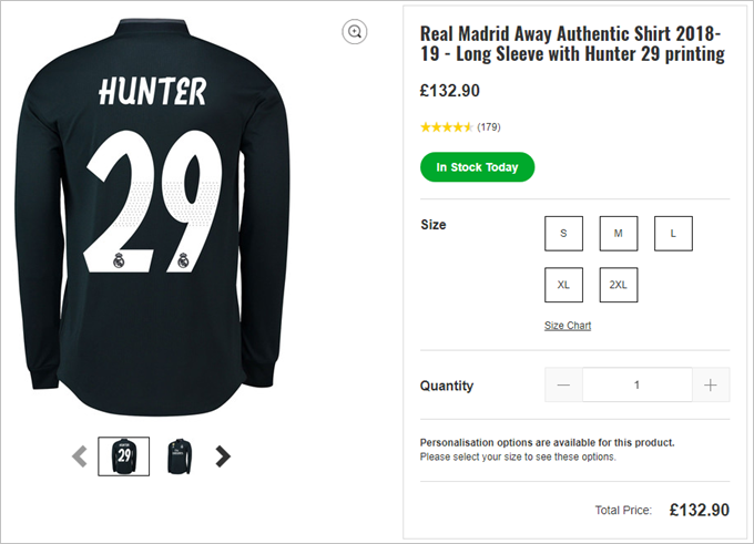 Alex Hunter moves to Real Madrid in Federation Internationale de Football Association  19's Journey mode