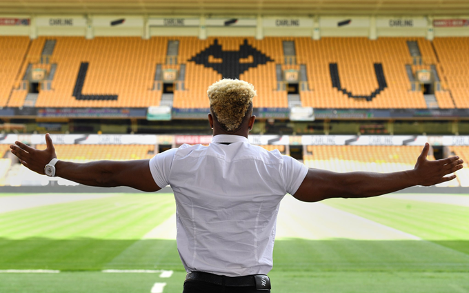Adama Traore joins Wolves in club-record £18m deal