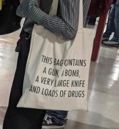 Taiwan airport bag bomb a