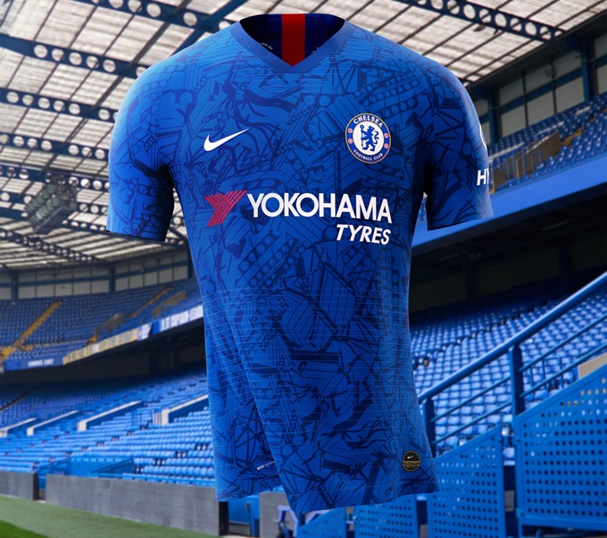 on sale 2c989 d9af4 Blue Barf: Chelsea Unveil New 2019/20 Home Kit And It's An ...