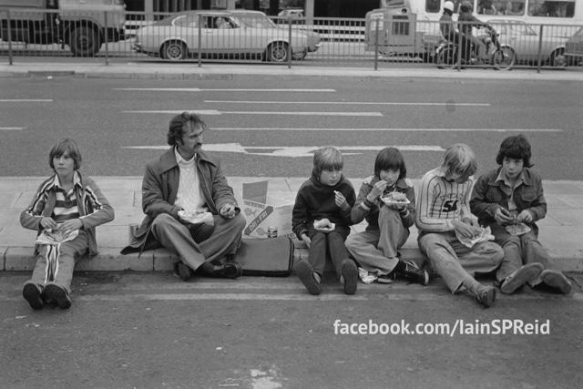 Manchester football fans 1970s